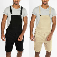 Men's Casual Shorts Dungarees Jumpsuit Overalls Trousers Playsuit Shorts Pants