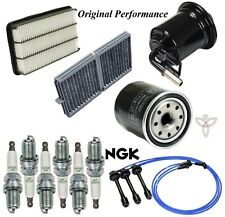 Tune Up Kit Cabin Air Fuel Filters Spark Plugs for Lexus ES300 Primary 1997-1998