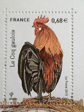 FRANCE 2015, timbre COQ GAULOIS, neuf**, ANIMALS, BIRD, COCK, MNH STAMP