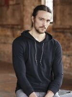 Anvil - Lightweight Long Sleeve Hooded T-Shirt - 987