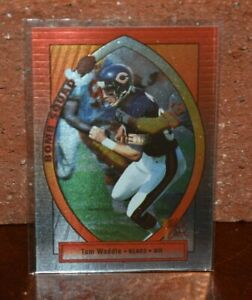 CHICAGO BEARS TOM WADDLE FOOTBALL CARD BOMB SQUAD