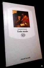 LEONARDO SCISCIA - TODO MODO - EINAUDI 1991 - 9788806117177