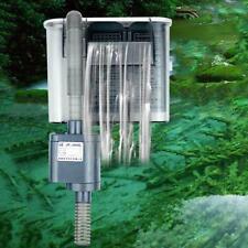 Filtro esterno Hang On Surface Skimmer Mini Nano Acquario Fish Tank 220-240 V UK