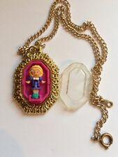 Vintage Polly Pocket Pretty Polly Locket 1994.Very Rare