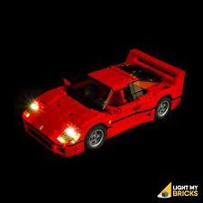 LIGHT MY BRICKS - LED Light kit for LEGO Ferrari F40 10248 Light Up Lego Ferrari