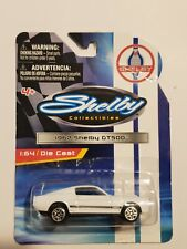 2013 SHELBY COLLECTIBLES 1/64 WHITE WITH BLACK STRIPES 1967 SHELBY GT500