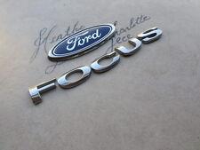 05-07 Ford Focus Emblem 95GB-F425A52-CC-D39BK Logos Nameplate Decals Scripts Set
