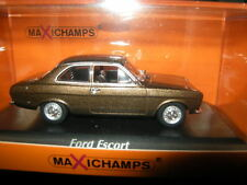1:43 MAXI Champs FORD ESCORT 1974 BROWN/MARRONE N. 940081000 OVP