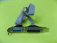 15-Pin Joystick Port and 25-Pin Serial Port Motherboard Connector