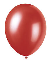 "12"" METALLIC/Pearlised High Quality LATEX BALLOONS (Decoration/Birthday/Party)"
