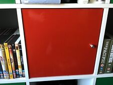 4 Ikea kallax inserts in Red Gloss RARE no longer made