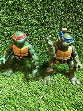 teenage mutant ninja turtles Figures X 2 1993