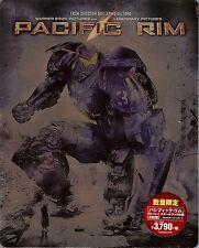 Pacific Rim 3-Disc Limited Edition SteelBook Blu-ray (Region Free Japan Import)