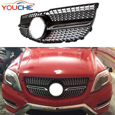 Diamond Design Front Grill for Mercedes-Benz GLK Class 2012-14 X204 Grille Black
