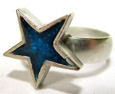 Modeschmuck-Ringe ohne Stein mit Stern-Schliffform