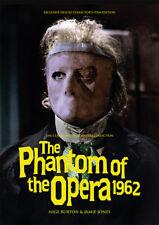 The Phantom of The Opera 1962 Hammer Horror Herbert LOM Movie Magazine