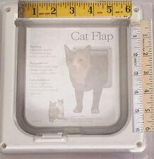 "Pet Flap Door 6"" X 6"" Opening-Magnetic Closure-Pets Lockable up to 12 lbs New!"