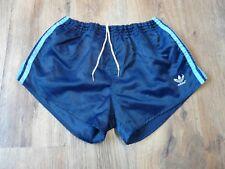 Vintage 80's Adidas Shiny Nylon Shorts Glanz West Germany Size Medium D6 (S038)