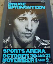 BRUCE SPRINGSTEEN - THE RIVER TOUR -  ORIGINAL ROLLED CONCERT POSTER (1980)