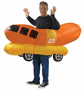 Rasta Imposta Oscar Mayer Wiener Mobile Wienermobile Inflatable Adult Costume