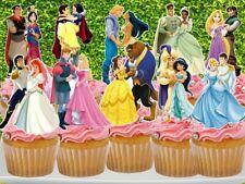Disney Princesses and Prince Cupcake Topper (10pcs)