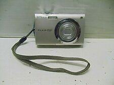 Used Nikon CoolPix S4000 Digital Camera Silver