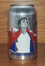 NM 2018 USA DIET PEPSI MICHAEL JACKSON FULL 12oz 355mL SODA CAN w/ORIG CONTENTS