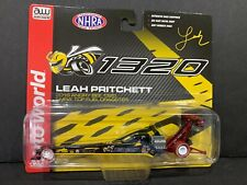 Auto World Angry Bee 1320 Top Fuel Dragster Leah Pritchett 2018 64005 1/64 Chase