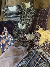 11 Dress Lot Forever 21 Women's Small Bodycon Night Day Casual Tribal Printed