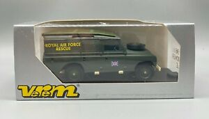 *NEW* VEREM - LAND ROVER V9611 Tole Royal Air Force Rescue MILITARY 1:43 Diecast