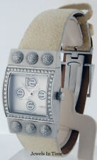Roberge Ladies Steel & Diamond Corvus Watch