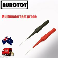 Multimeter test lead Extention back probes 30v sharp needle micro pin for fluke