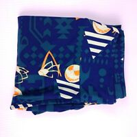 Lularoe Nightmare Before Christmas Leggings OS Blue Jack Triangles