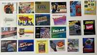 NES Nintendo Video Game Manual Lot With Posters And Ad Cards FREE SHIPPING