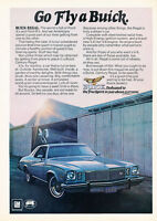 1975 Buick Regal - Fly - Classic Vintage Advertisement Ad D160