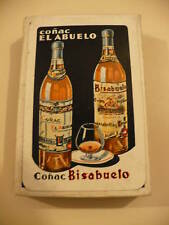 Old Cognac El Abuelo Bisabuelo Fournier Playing Cards