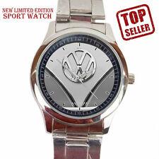 New VW Volkswagen Bus Classic Sport Accessories Logo Sport Metal Watch Hot Gift