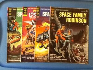GOLD KEY Comics ! Space Family Robinson ! # 1  ! 1962 ! Included in 4 Book Lot !