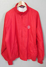 Vintage Muirfield Village Golf Club Red Duckster Windbreaker Jacket Coat Size XL