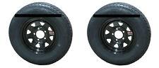 *2* Rainier ST175/80R13 LRD Radial Trailer Tires & Wheels Black Spoke 5-4.5 boat