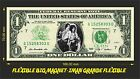 QUEEN (1) IMAN BILLETE 1 DOLLAR BILL MAGNET
