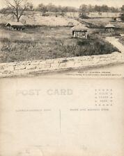 Elizabethtown Pa Masonic Homes Lancaster 4 Springs Vintage Photo Postcard Rppc