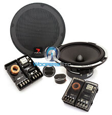 "FOCAL EXPERT PS 165X2 6.5"" CAR 2 OHM COMPONENT SPEAKERS TWEETERS CROSSOVERS NEW"