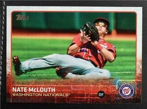 2015 Topps #676 Nate McLouth - NM-MT