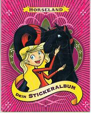 Horseland Dein Stickeralbum 67 Sticker sind eingeklebt
