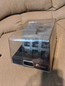 Vintage - Fellowes - 5.25 - Floppy Disk - Storage Case - Organizer - AS Pictured