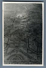 Palestine, Roman Mosaic  Vintage silver print.  Tirage argentique d'époqu