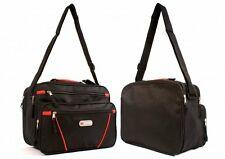 New Womens Girls Ladies Holdall Travel Weekend Gym Sports Bag Hand Luggage Black