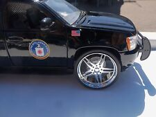 JADA 1/24 SCALE CHROME WHEELS FOR REPAIRING FITS 2010 CHEVY TAHOE #2004STR