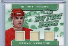 2019-20 Leaf Lumber Kings Emerald Hat Trick Heroes 18 Hat Tricks 1/5 Yzerman